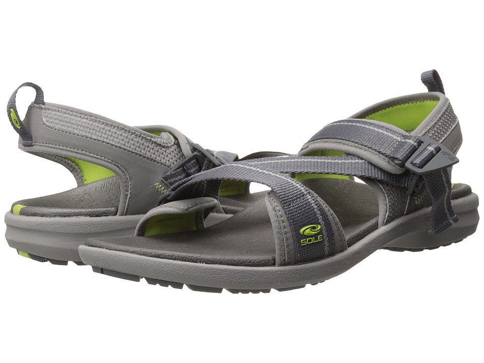 SOLE - Navigate (Granite) Men's Sandals