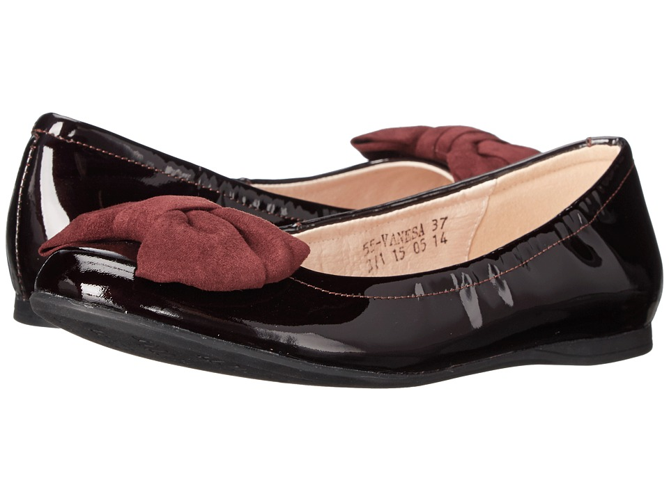 Venettini Kids - 55-Vanesa (Little Kid/Big Kid) (Bordo SP Patent) Girls Shoes
