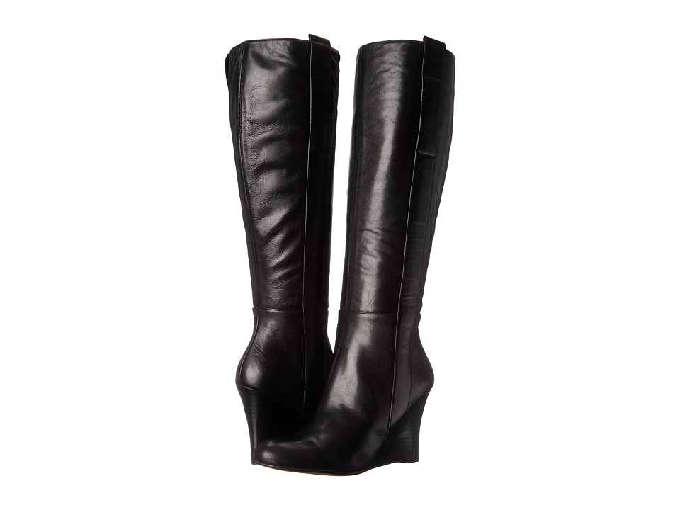 Nine West - Oran (Black Leather) Women