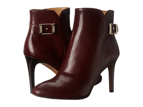 Nine West - Palafox (Dark Red Leather) Women's Boots