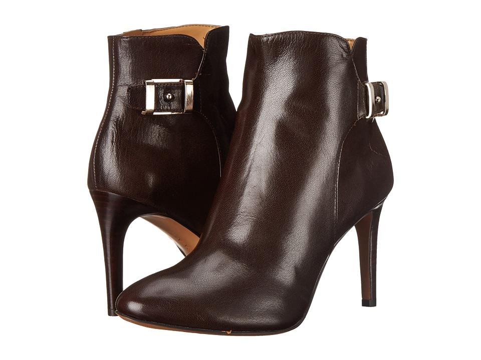 Nine West - Palafox (Dark Brown Leather) Women's Boots