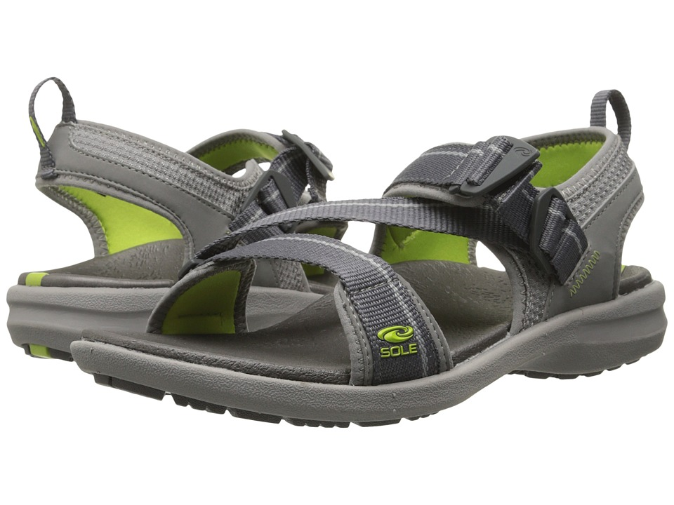 SOLE - Navigate (Granite) Women's Sandals