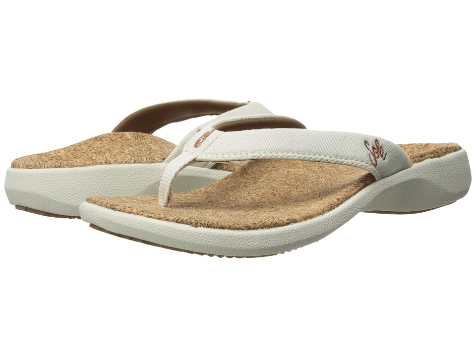 SOLE - Cork Flips (Vellum) Women's Sandals