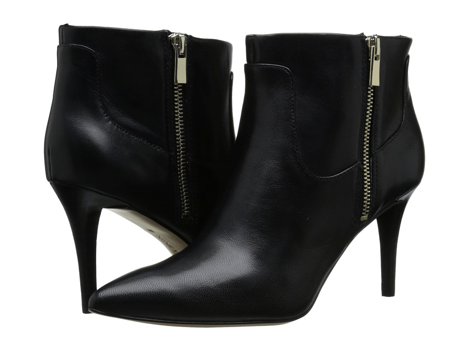Nine West Pirhana (Black Leather) Women