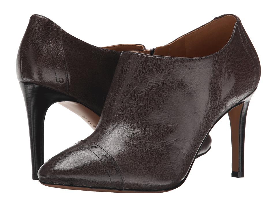 Nine West - Phyliss (Dark Grey Leather) Women