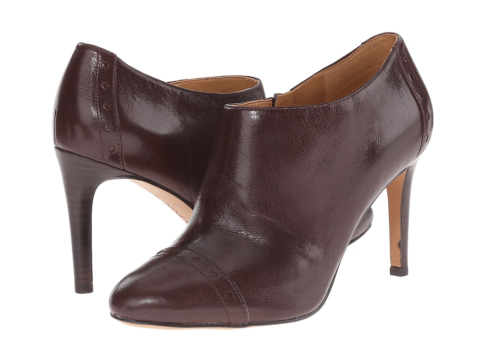 Nine West - Phyliss (Dark Brown Leather) Women