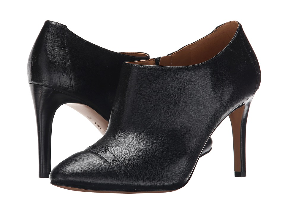 Nine West - Phyliss (Black Leather) Women