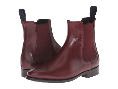 Paul Smith - Parma Bertram Boot (Bordo) Women's Pull-on Boots