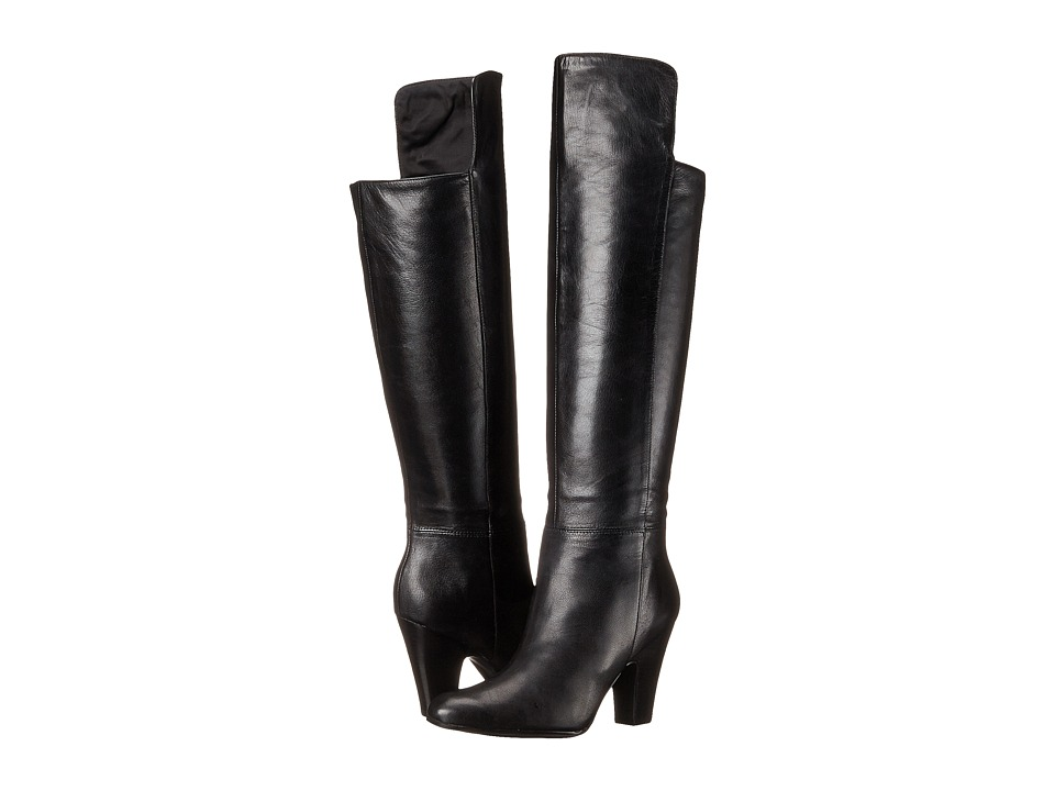 Nine West - Quikstep (Black Leather) Women