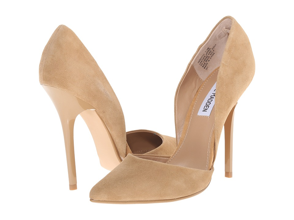 a71fc4a4b73 UPC 889163370287 - Steve Madden - Varcityy (Sand Suede) High Heels ...