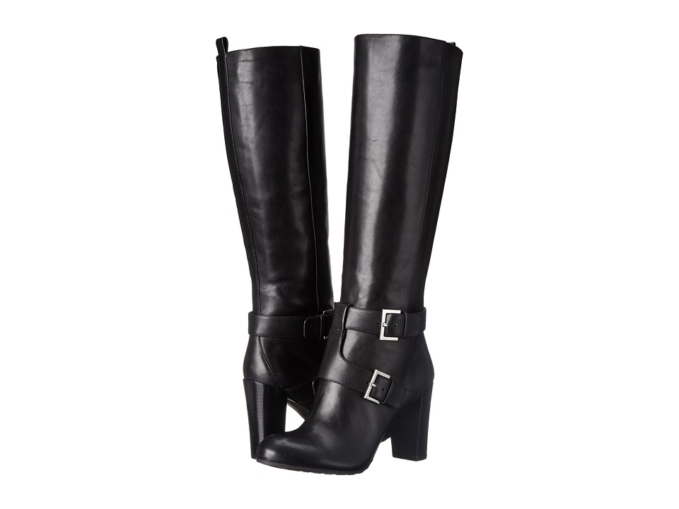 Nine West - Skylight (Black Leather) Women's Boots
