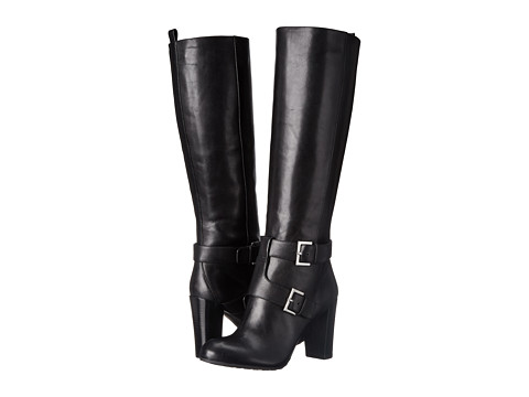 Nine West - Skylight (Black Leather) Women's Boots