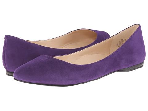 Nine West - SpeakUp (Dark Purple Suede) Women's Dress Flat Shoes