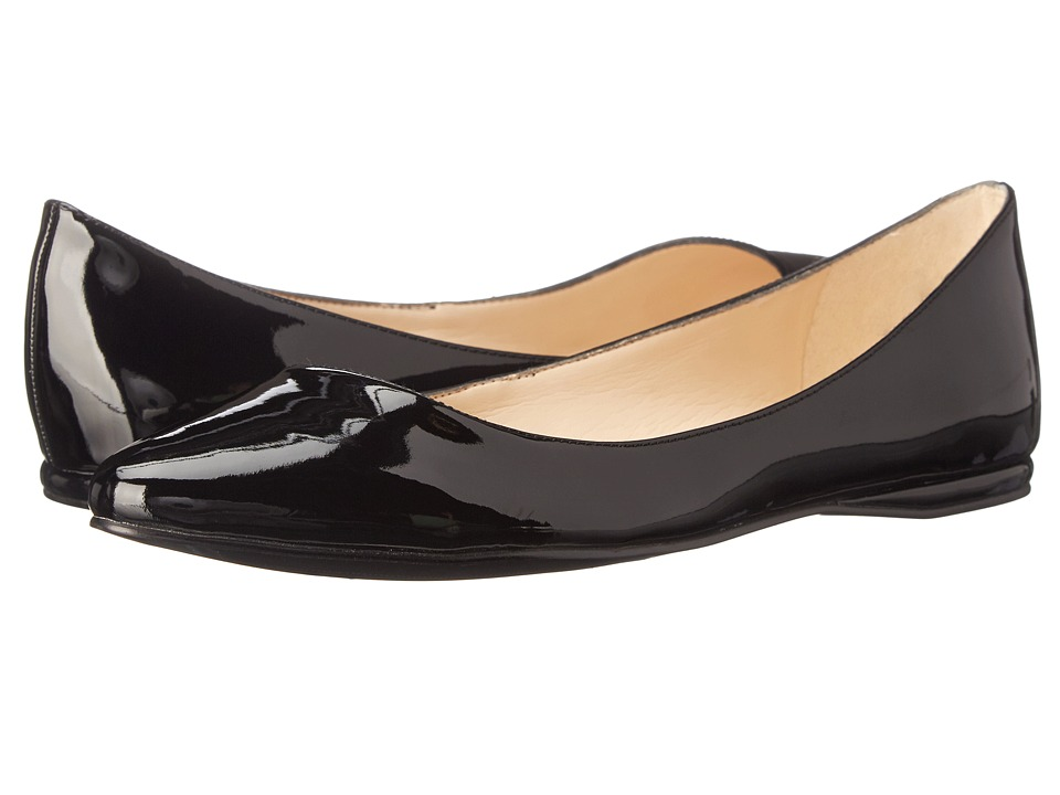 Nine West - SpeakUp (Black Synthetic 2) Women's Dress Flat Shoes