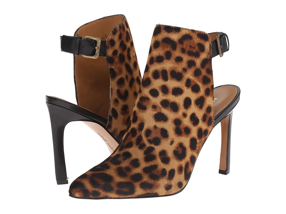 Nine West - Splash (Natural Multi/Black Pony) High Heels