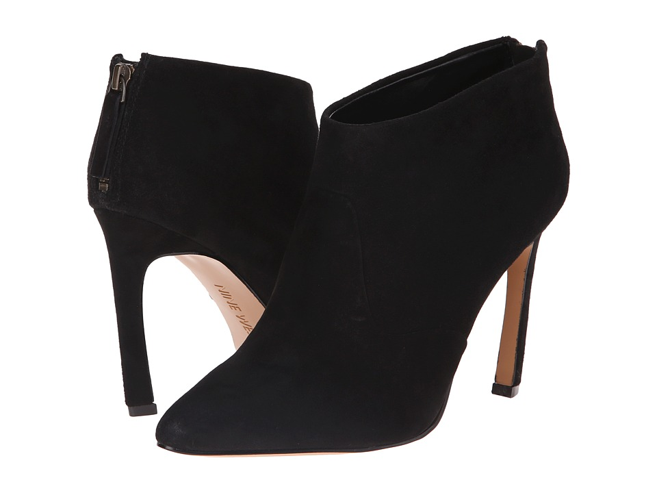 Nine West - Swarm (Black Suede) Women's Pull-on Boots