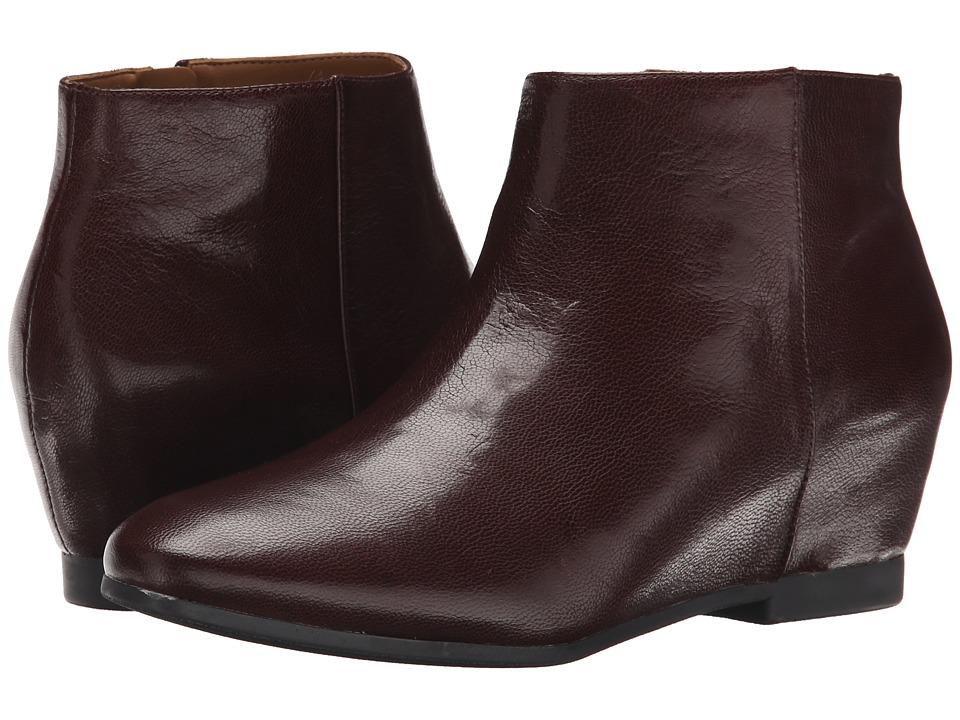 Nine West - Towsley (Dark Brown Leather) Women