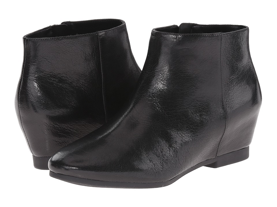 Nine West - Towsley (Black Leather) Women