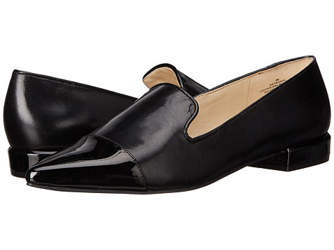 Nine West - Trainer (Black/Black Leather) Women's Flat Shoes