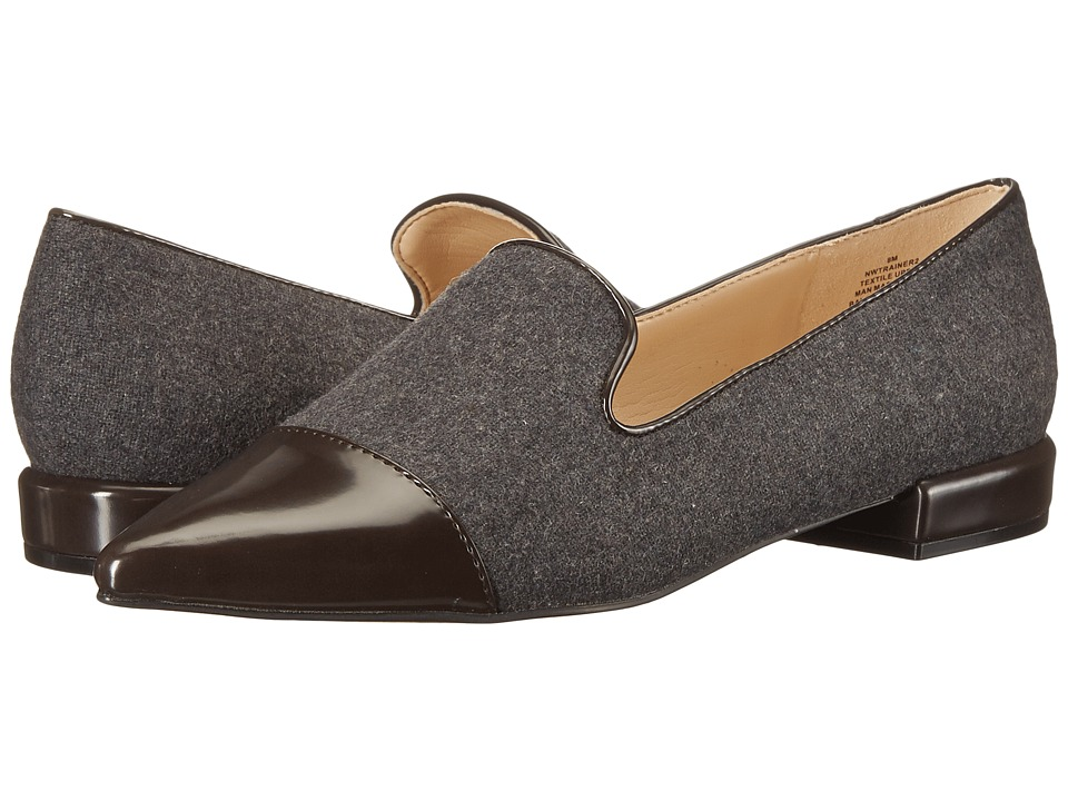 Nine West - Trainer (Dark Grey/Dark Grey Fabric) Women's Flat Shoes