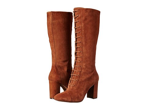 Nine West - Waterfall (Brown Suede) Women's Lace-up Boots