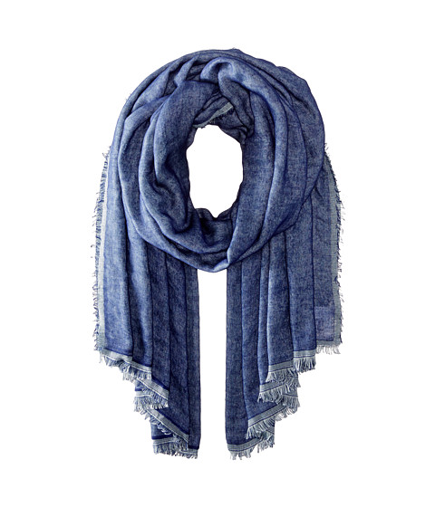 BCBGeneration - Double Take Wrap (Navy Sea) Scarves