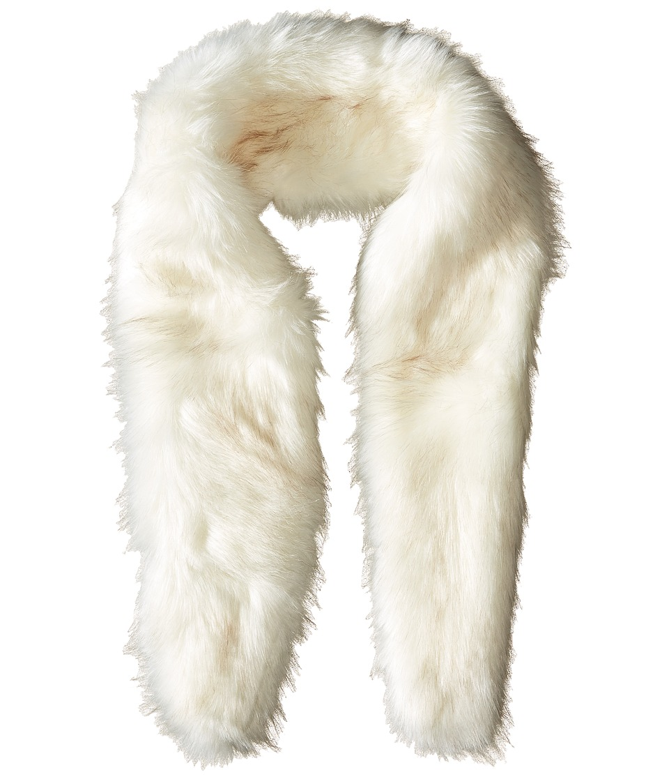 BCBGeneration - Faux Fur Stole (Moon Beam) Scarves