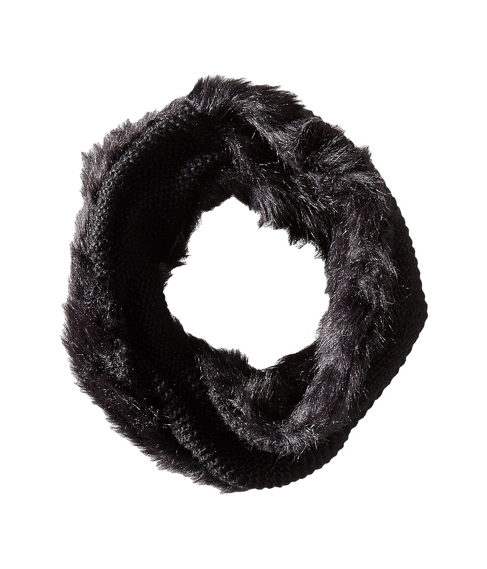 BCBGeneration - Fur Love Cowl (Jet Black) Scarves