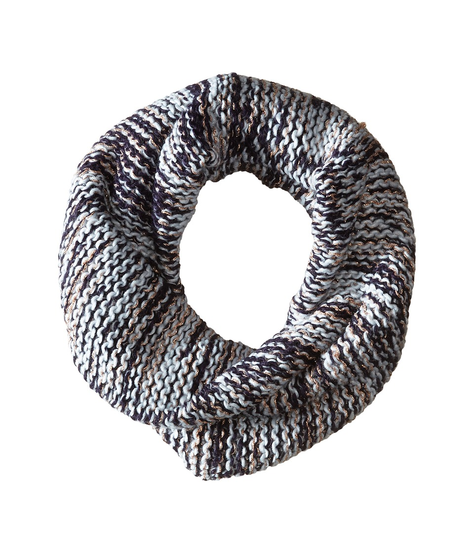 BCBGeneration - Chunky Shine Twisted Cowl (Navy Dusk) Scarves