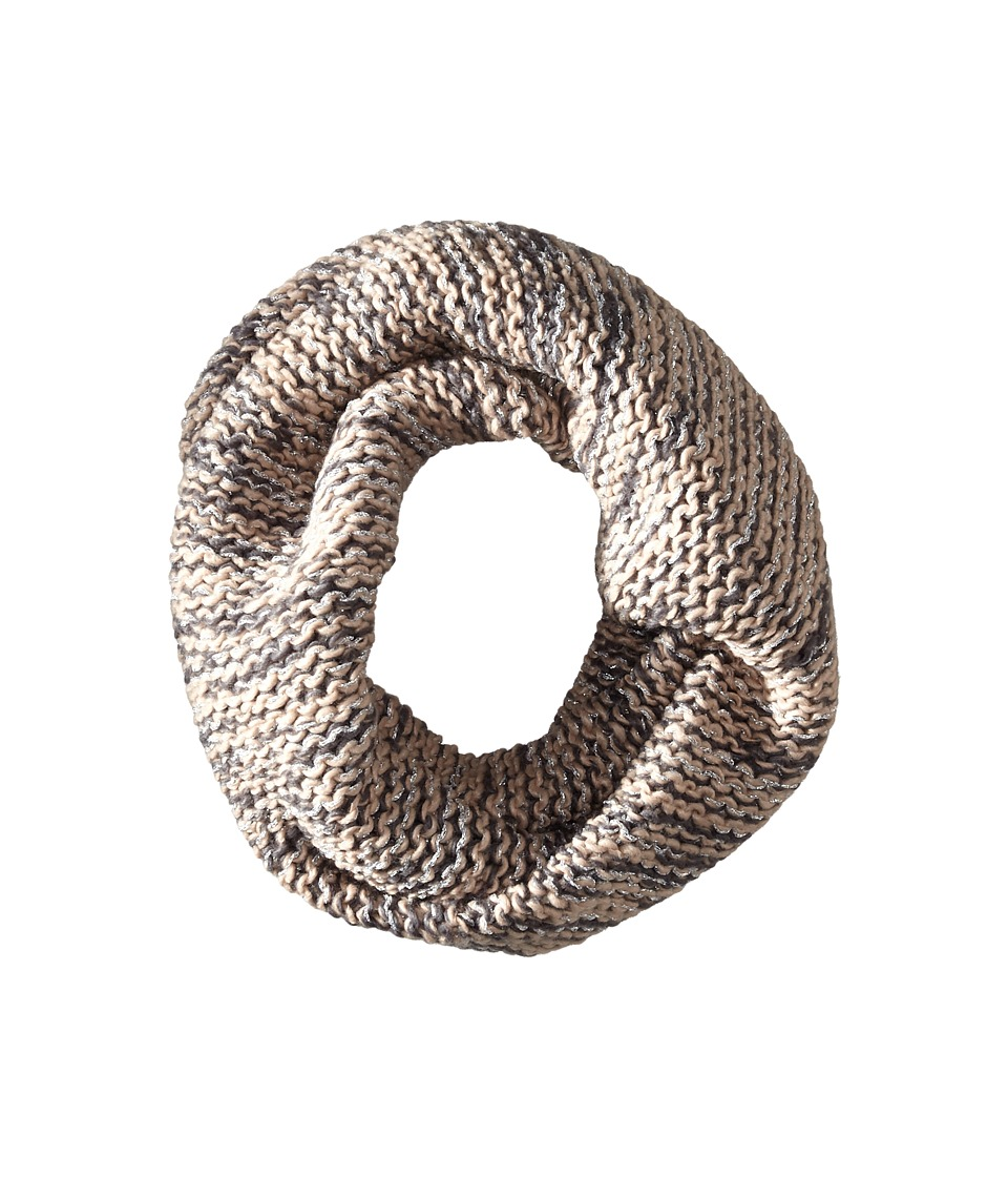BCBGeneration - Chunky Shine Twisted Cowl (Antic Grey) Scarves