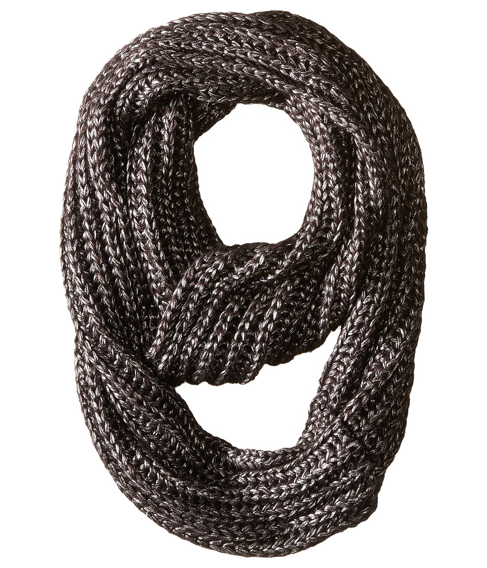 BCBGeneration - Liquid Metallic Loop (Jet Black) Scarves