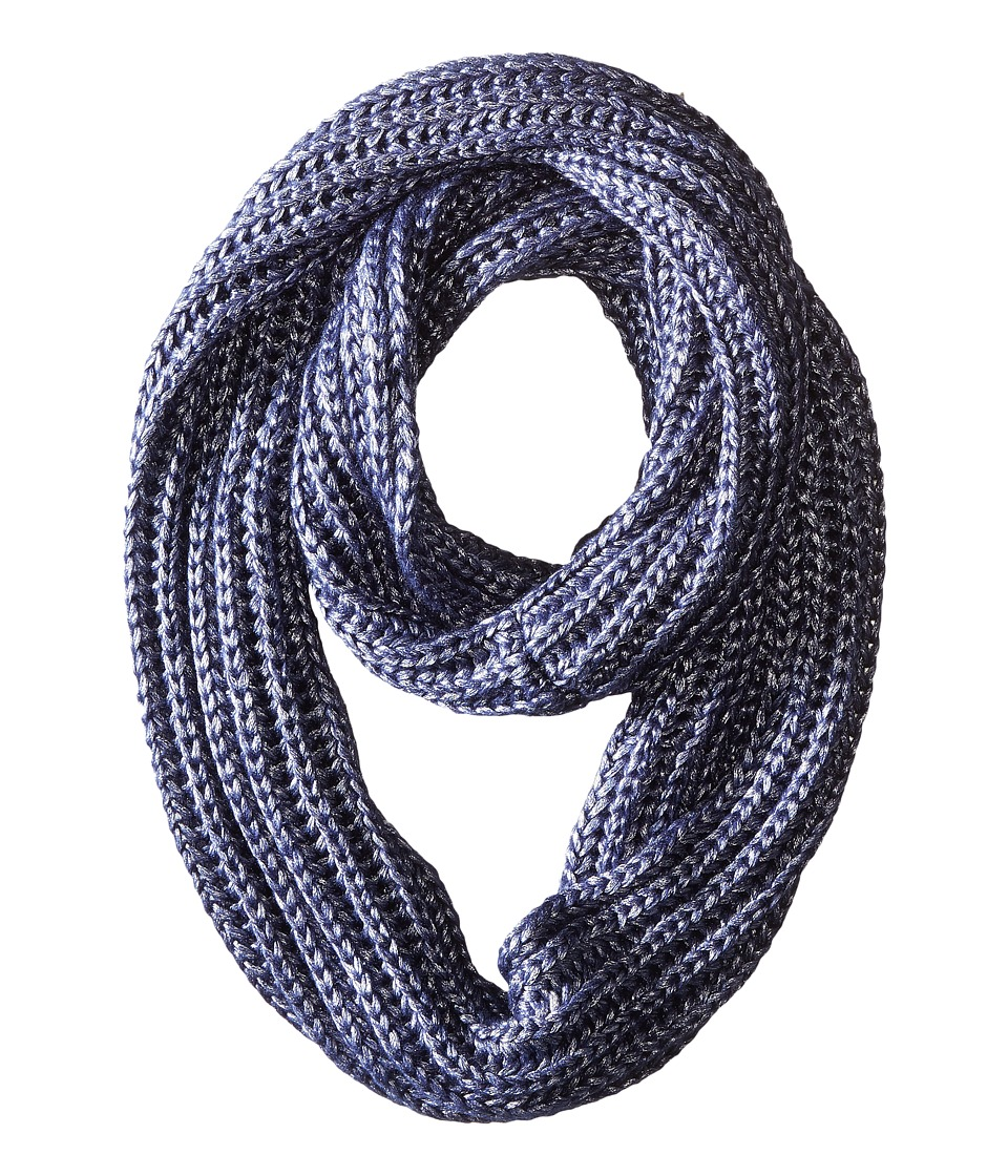 BCBGeneration - Liquid Metallic Loop (Navy Sea) Scarves