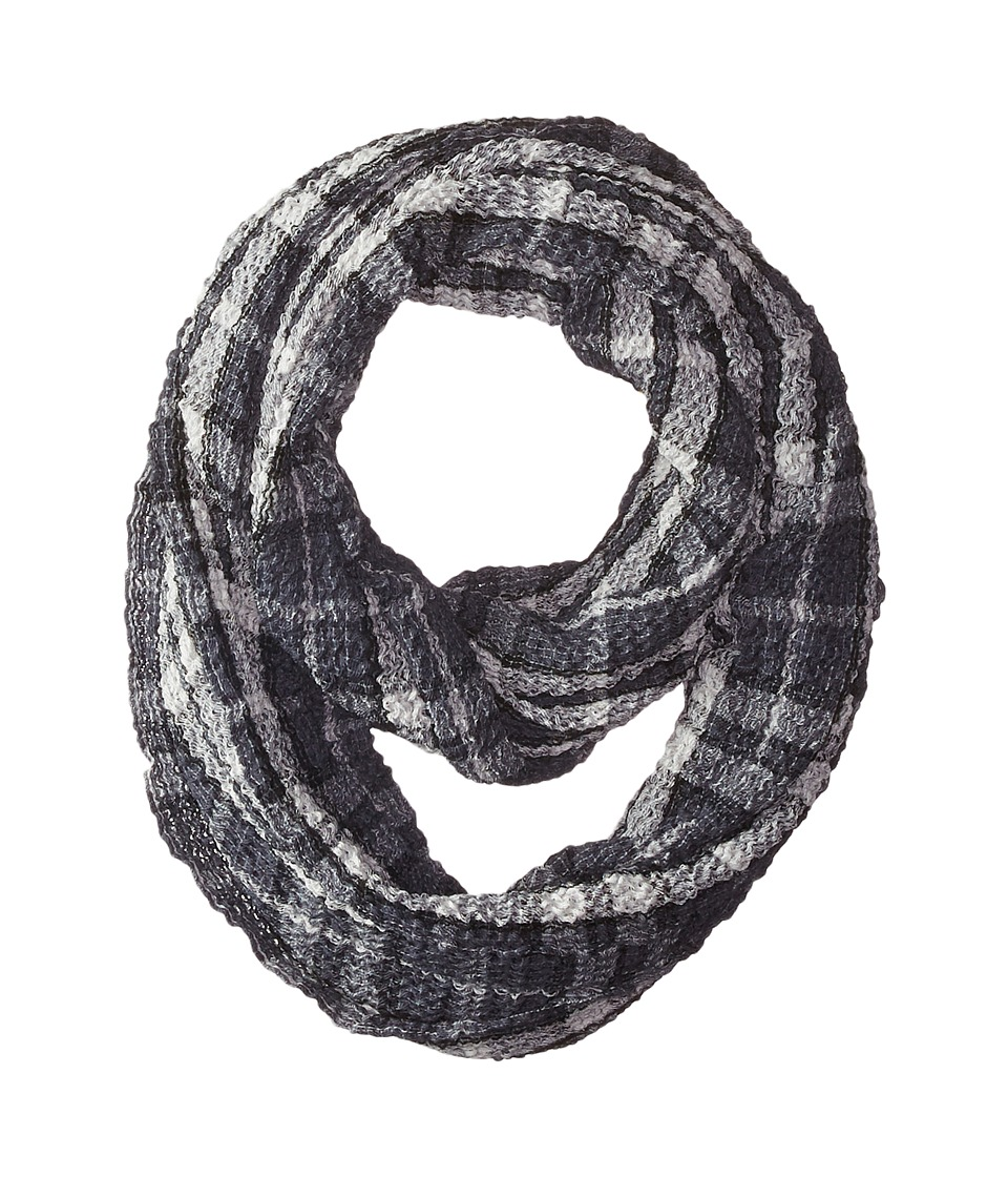 BCBGeneration - Workin It Plaid (Black) Scarves