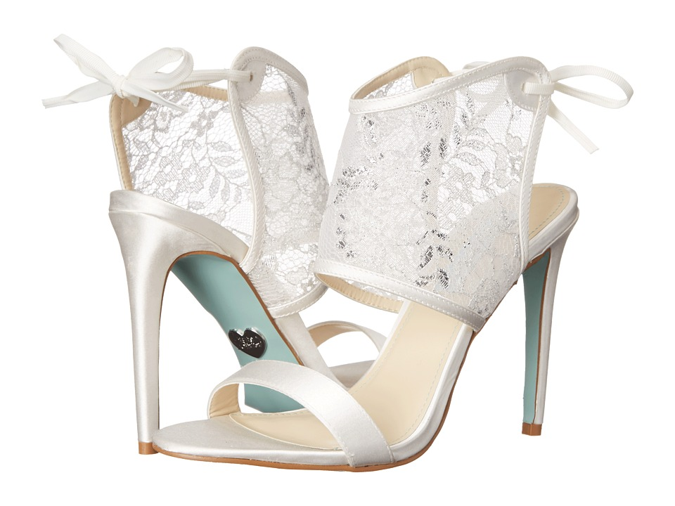 Blue by Betsey Johnson - Sloan (Ivory) High Heels