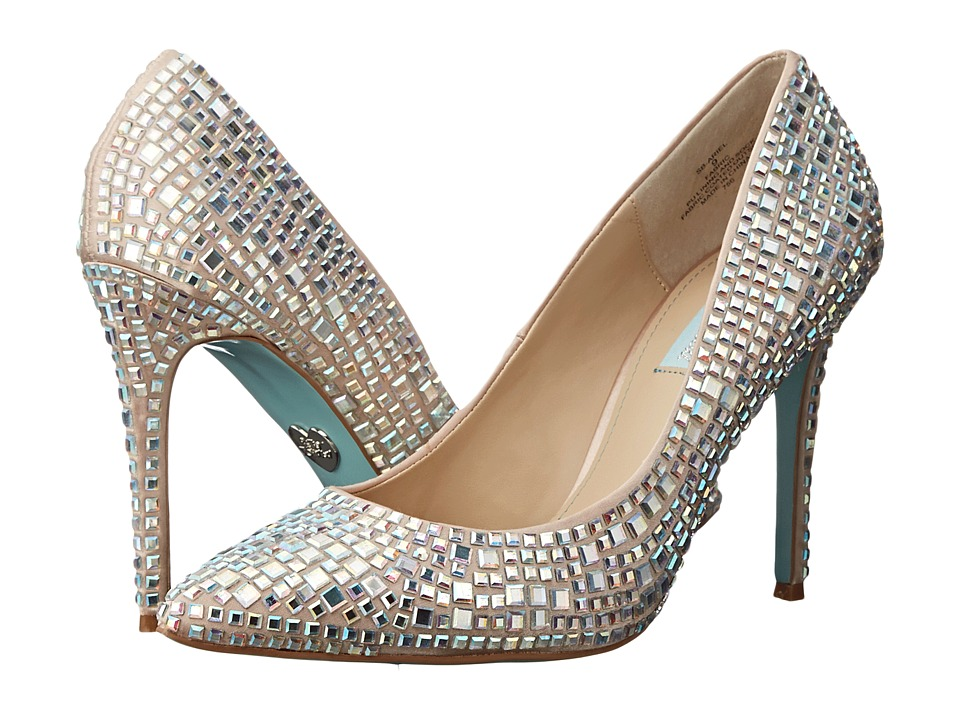 Blue by Betsey Johnson - Ariel (Champagne Satin) High Heels