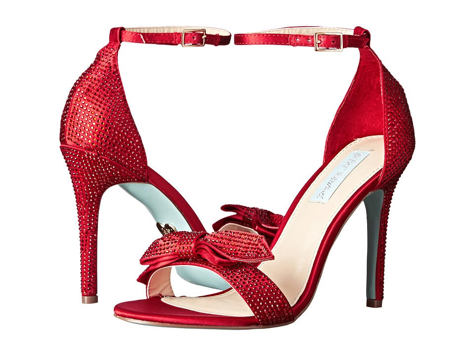 Blue by Betsey Johnson - Gwen (Red Satin) High Heels