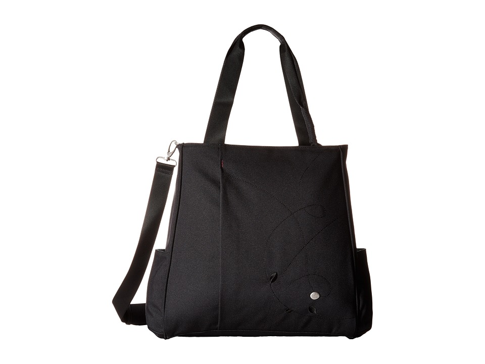 Haiku - Wisdom Work Tote (Black) Tote Handbags