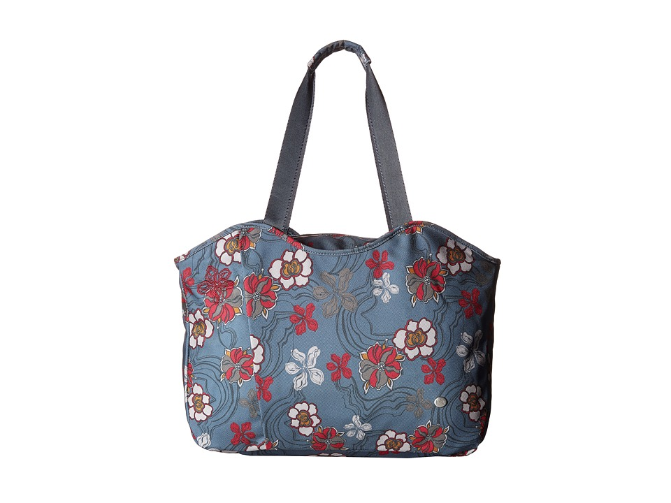 Haiku - Everyday Tote (River Floral Print) Tote Handbags