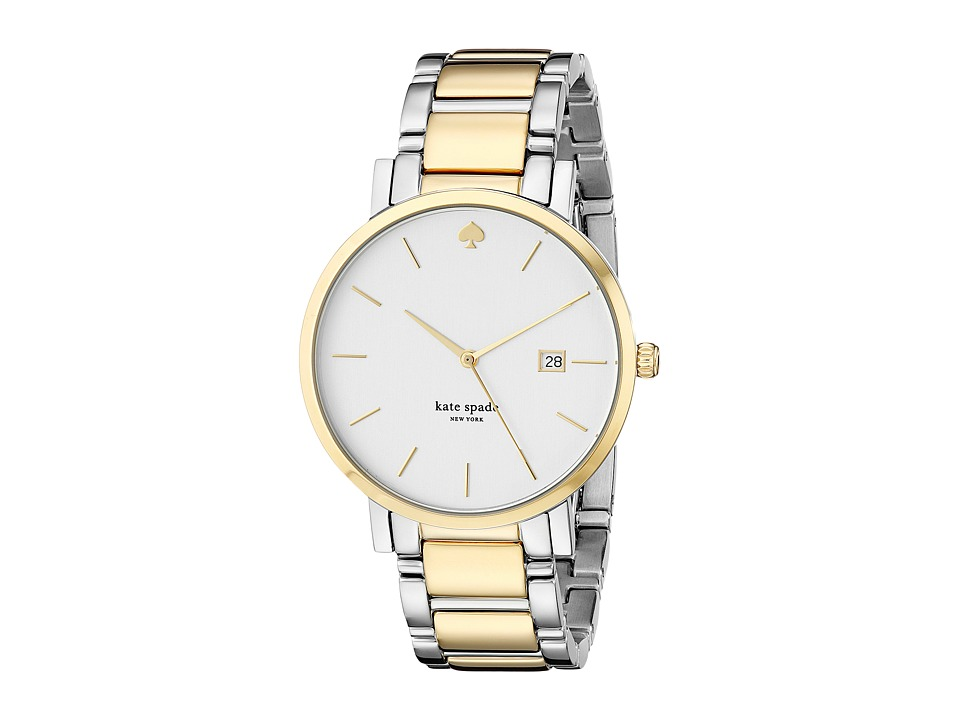Kate Spade New York - Gramercy Grand - 1YRU0108 (Two-Tone Gold) Watches