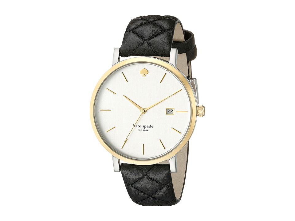 Kate Spade New York - Metro Grand - 1YRU0125 (Gold/Black 1) Watches