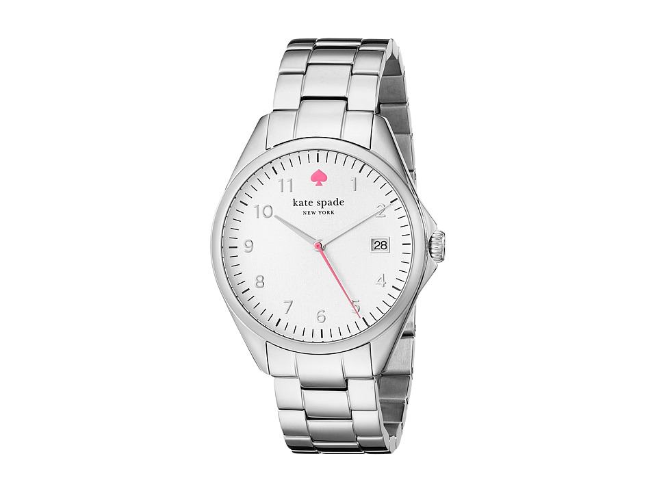 Kate Spade New York - Seaport Grand - 1YRU0029 (Stainless Steel/White 1) Analog Watches