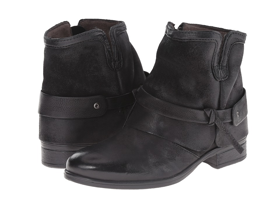 Miz Mooz - Seymour (Black) Women's Pull-on Boots