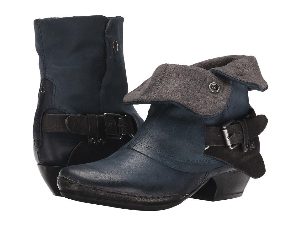 Miz Mooz - Evelyn (Navy) Cowboy Boots