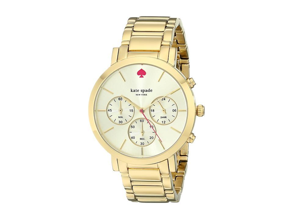 Kate Spade New York - Gramercy - 1YRU0715 (Gold 1) Watches