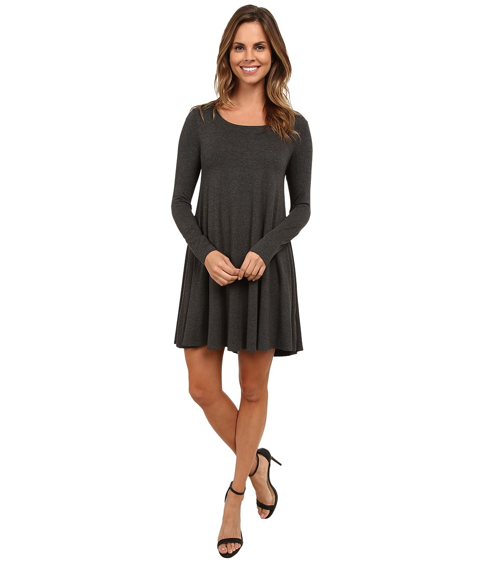 Karen Kane - Swing Dress (Dark Heather Gray) Women's Dress