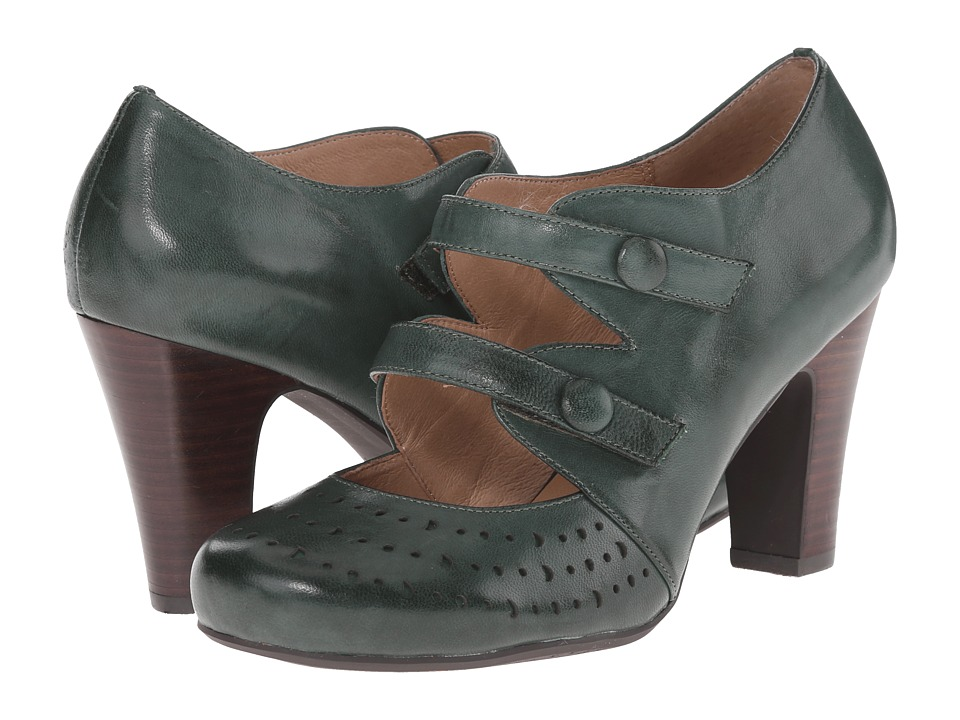Miz Mooz - Judy (Forest) Women's 1-2 inch heel Shoes