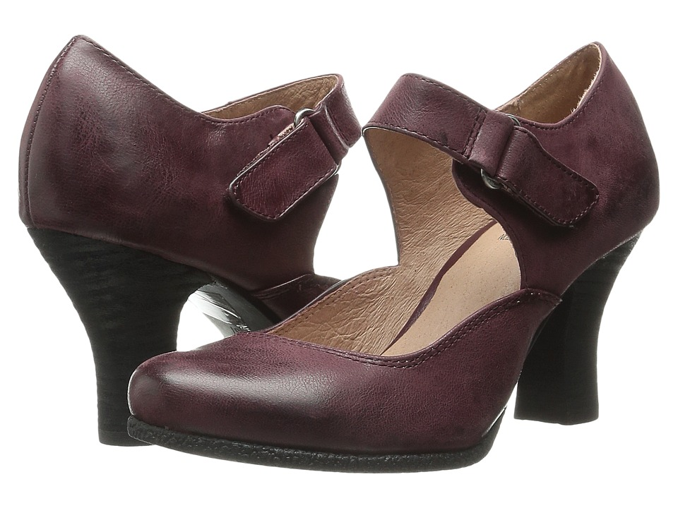 Miz Mooz - Kora (Wine) Women's 1-2 inch heel Shoes