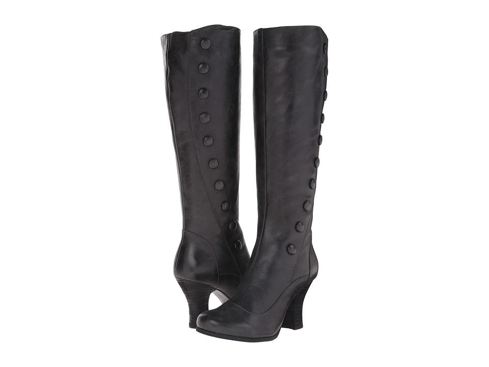 Miz Mooz - Krista (Smoke) Women's Zip Boots