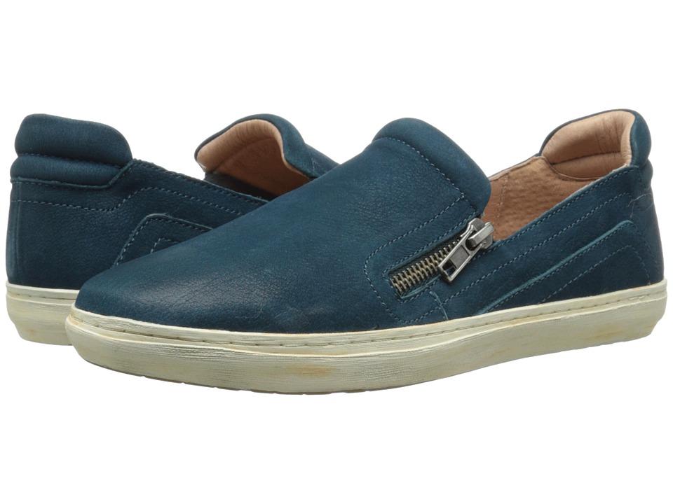 Miz Mooz - Regina (Teal) Women's Slip on Shoes