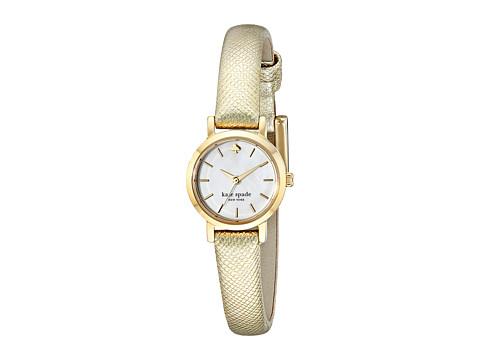 Kate Spade New York - Tiny Metro - 1YRU0455 (Gold 1) Analog Watches